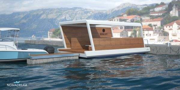 Cafe on the water - project NOMADREAM for Dukley