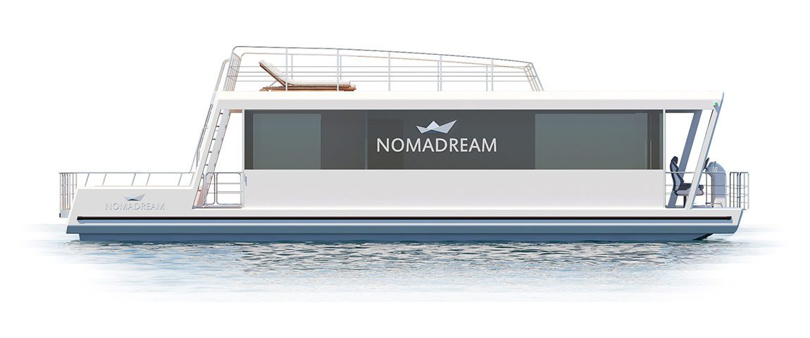 Nomadream 1300 - houseboot