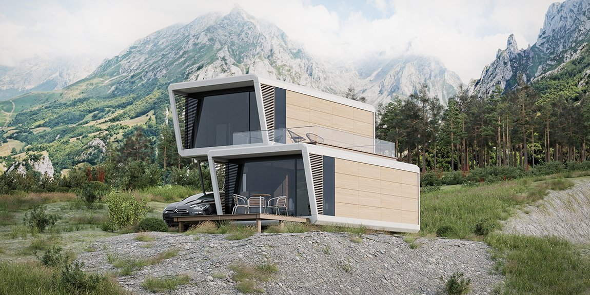 Nomadream - mobile home x 2