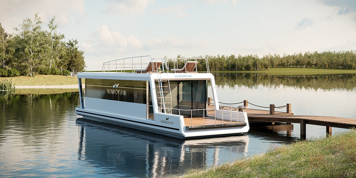 Nomadream 1300 - houseboat
