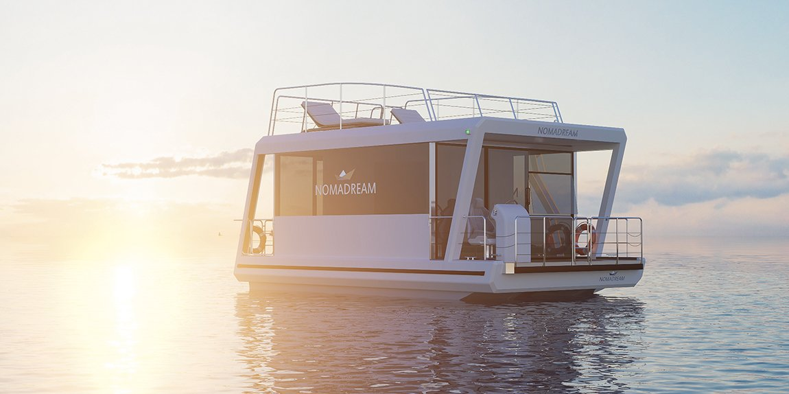 Nomadream 1000 - houseboat