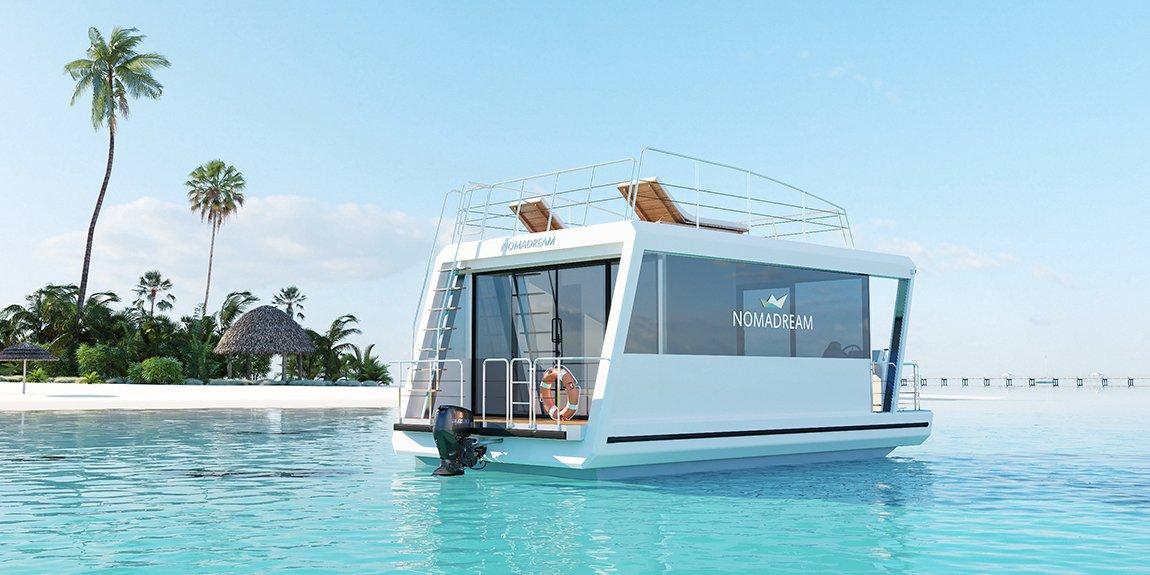 Nomadream 800 - houseboat