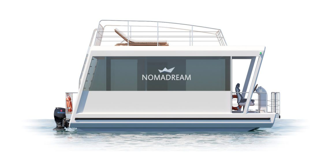 Nomadream 800 - houseboat