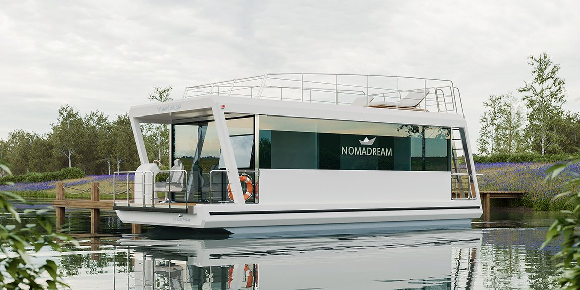 NOMADREAM houseboat