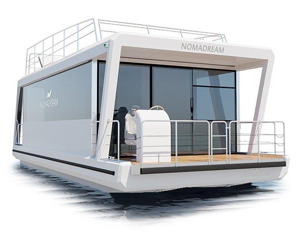 Houseboaty i mobilne domy Twoich marzeń